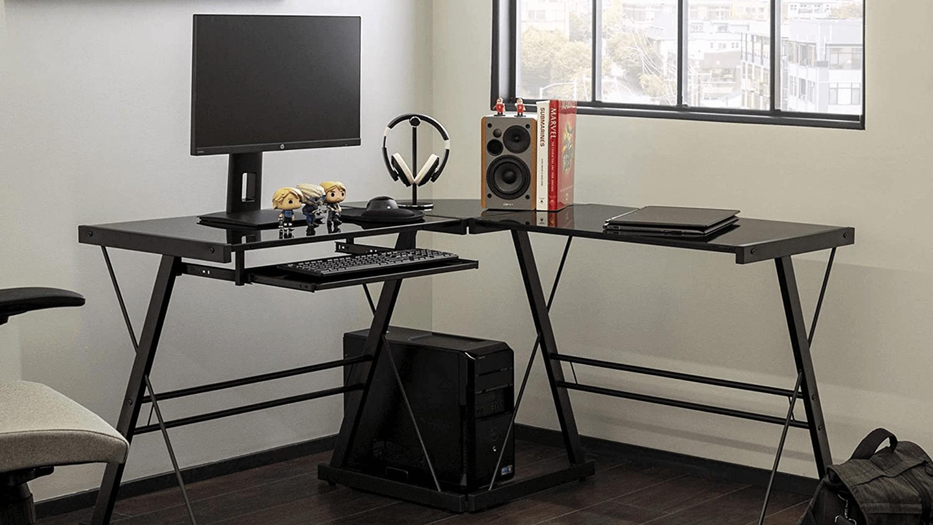 Walker Edison Soreno Gaming Desk