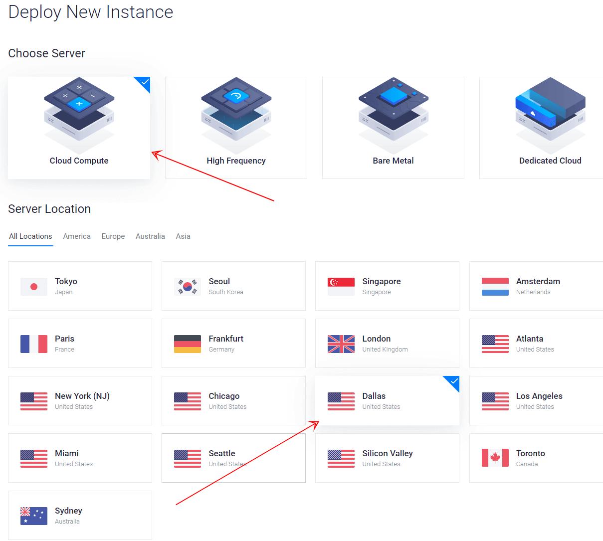 Vultr Rust Servers