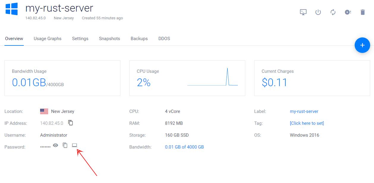 Rust Servers Manage