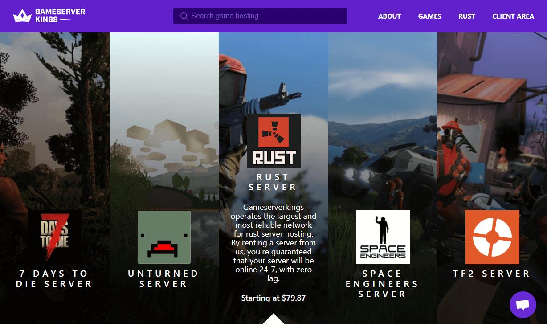 Game Server Kings game hosting