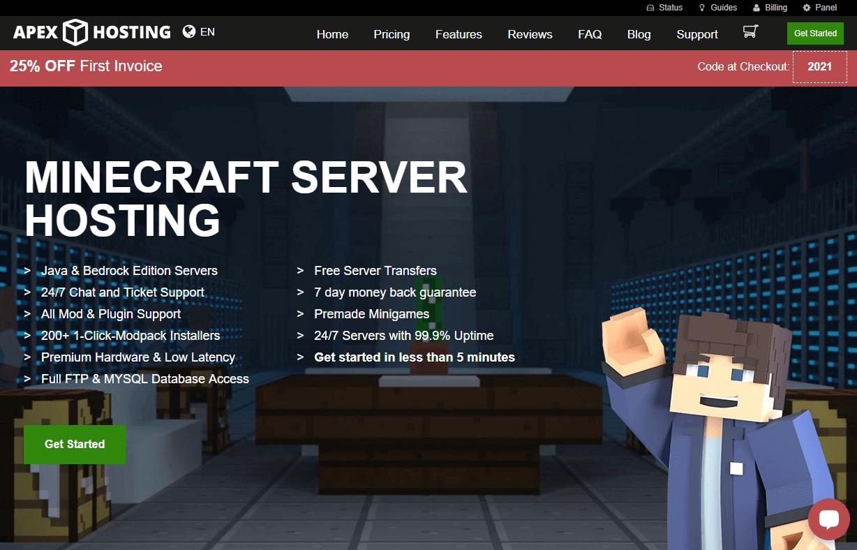 Apex Hosting game server