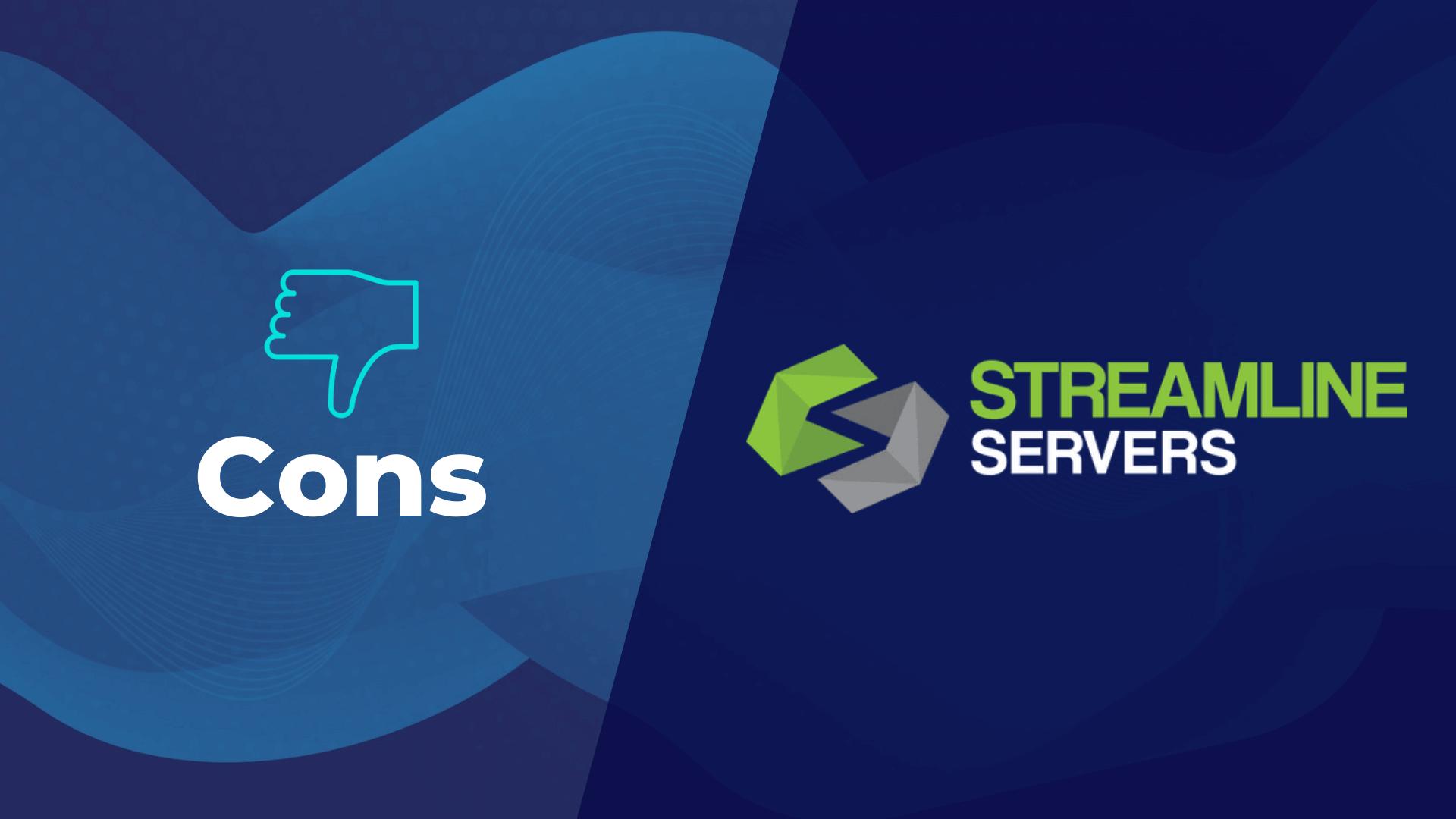 Streamline Servers Cons Scam