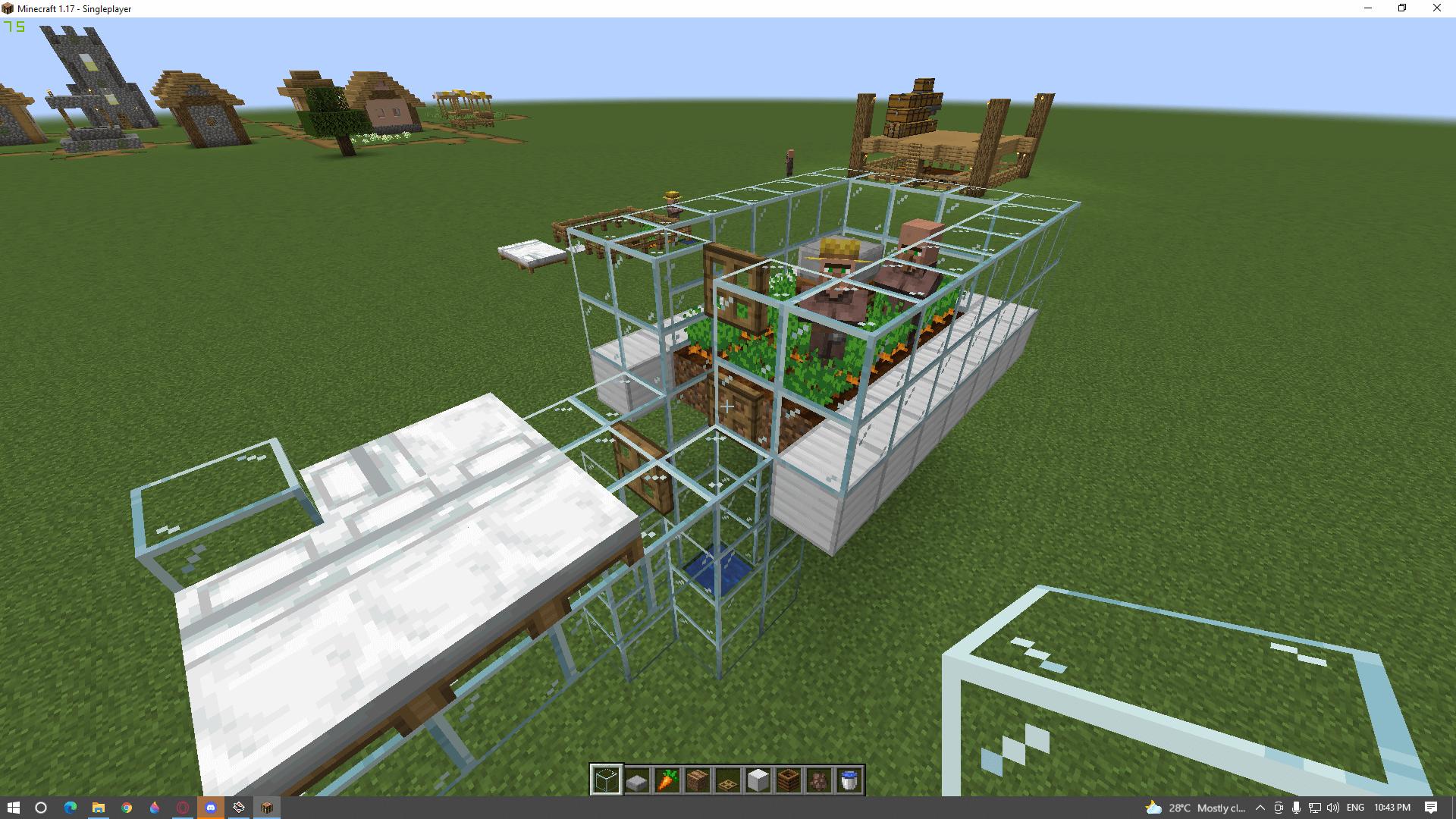 automatic villager breeder