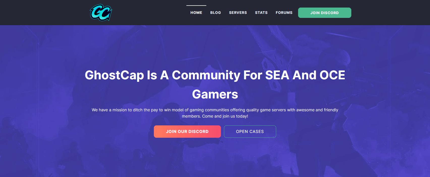 vultr for web hosting ghostcap gaming